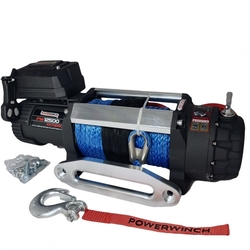 naviják 12500 Extrem HD 12V synt lano POWER WINCH